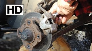 5. How to Change ATV Brake Pads | Arctic Cat 500