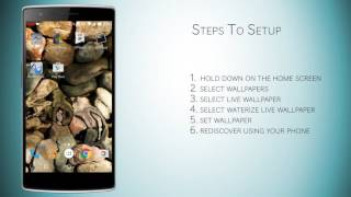 Waterize Lite Live Wallpaper YouTube video