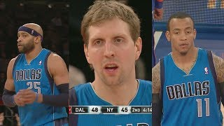 2014.02.24 - Dirk Nowitzki, Monta Ellis & Vince Carter Full Combined Highlights at Knicks