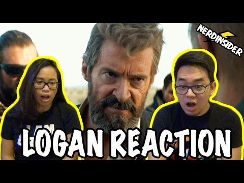 LOGAN Official RED BAND International Trailer REACTION & REVIEW