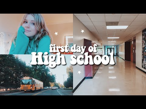 FIRST DAY OF HIGH SCHOOL VLOG 2018 | senior year (exchange student) (видео)