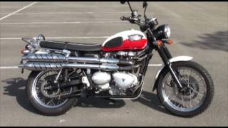 9. Triumph 900 Scrambler Stock No: 56302
