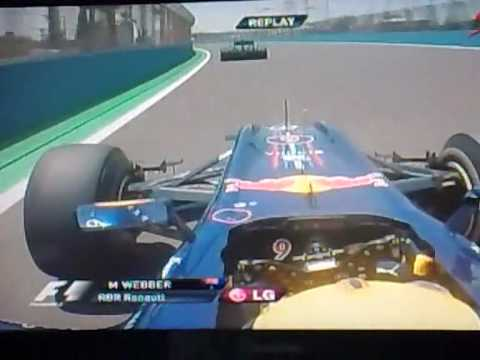 Mark Webber crash - Valencia 2010
