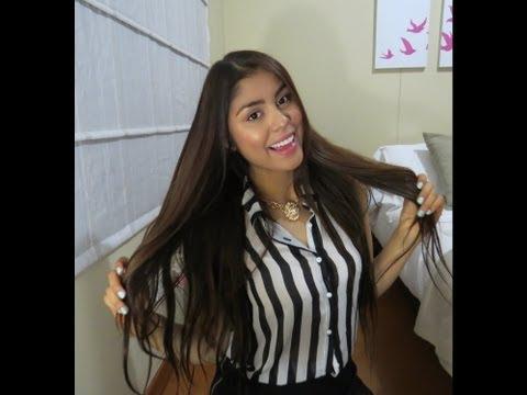 Todo sobre EXTENSIONES de Cabello ( reseña Ab hair) + Look Cyzone 2014!