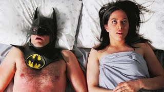 "VIDEO: Very, Very Funny BATMAN & JESSICA JONES in ""Pillow Talk"""