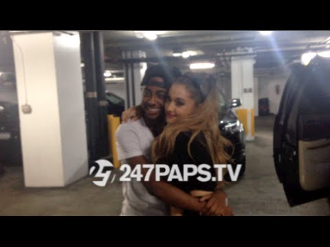 happy - ArianaGrande #ArianaGrande took pictures with Hundreds of fans waiting for her outside her Hotel , she then stops to sing Happy Birthday to our very own #247papsfamily member Cheetah Boy #veryswee...