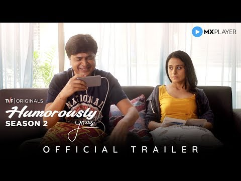 Humorously Yours Season 2 | Official Trailer | MX Player | A TVF Original Series | TVF Play