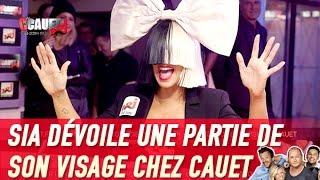 Sia dévoile une partie de son visage chez Cauet - C'Cauet sur NRJ
