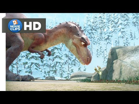 Ice Age 3 Hindi (06/18) Angry Mom T-Rex Entry Scene MovieClips
