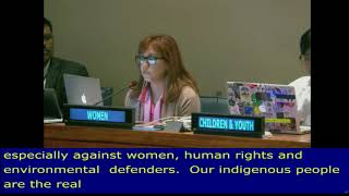 Isis Alvarez Intervention on Perspectives of LDCs, LLDCs and MICs , at the HLPF 2018: UN Web TV