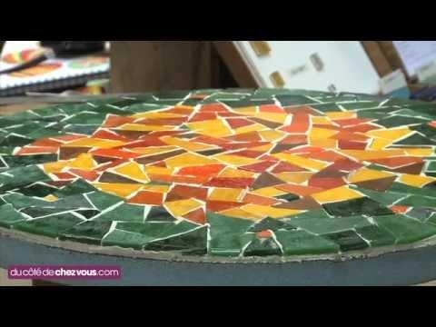 Relooker une table bistrot avec une mosaïque.mp4