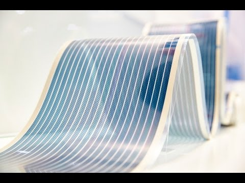 Flexible organic photovoltaics for energy harvesting