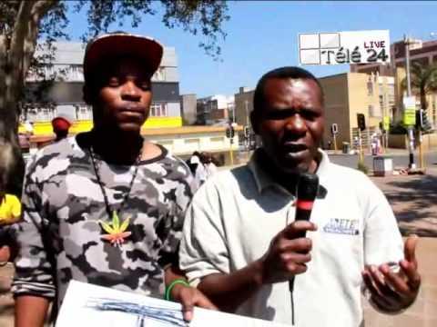 RSA: Maniféstation contre Kabila, Les Combattants de d'Afrique du Sud vandalisent l'ambassade de la RDC à Pretoria