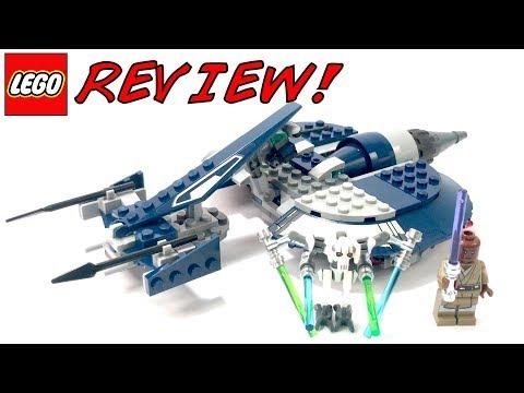 OVERPRICED! LEGO 75199 General Grievous' Combat Speeder Review!   LEGO Star Wars 2018 Set!