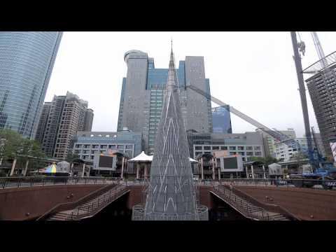 2013新北市歡樂耶誕城-主燈縮時紀錄