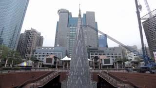 【2013新北市歡樂耶誕城】主燈縮時紀錄