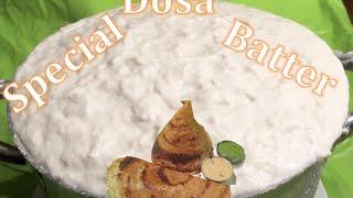 Dosa (Dosai) in Tamil