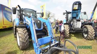9. New Holland Unveil T4B,T5 & T6 Tractors Grass & Muck 16