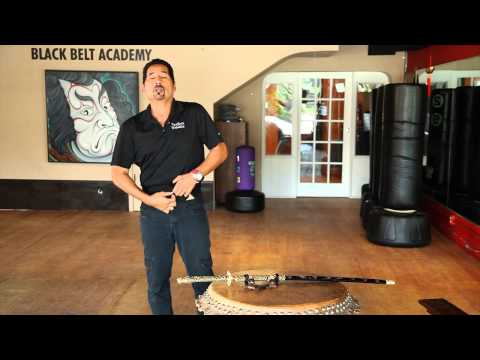 how to attach a sword sheath to a belt
