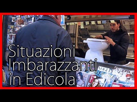 Situazioni Imbarazzanti in Edicola - [Esperimento Sociale] - theShow (видео)