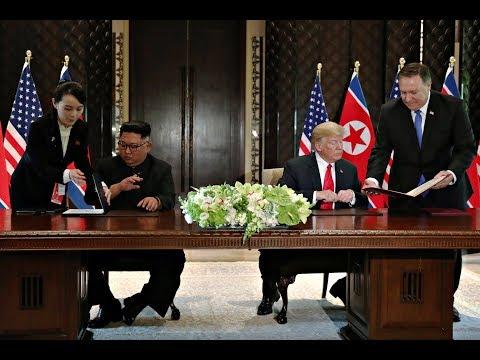 Singapur: Hier unterzeichnen Trump und Kim die histor ...