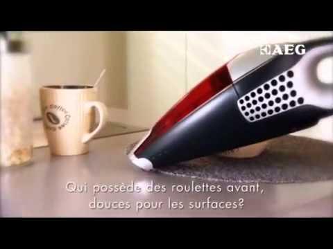 AEG RAPIDO - Aspirateur de table - Vidéo produit Vandenborre.be
