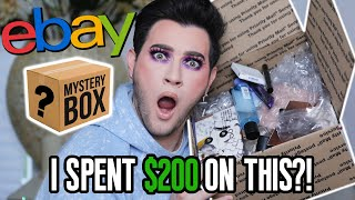 OPENING MY FIRST EBAY MAKEUP MYSTERY BOX! I spent $200 on this... by Manny Mua