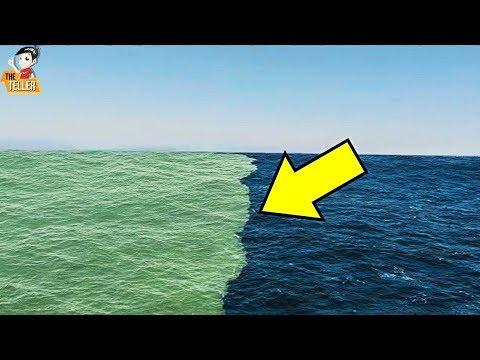 เหตุผลที่น้ำทะเลทั้งสองแห่ง ไม่ผสมกัน ?? (ปรากฏการณ์แปลก)