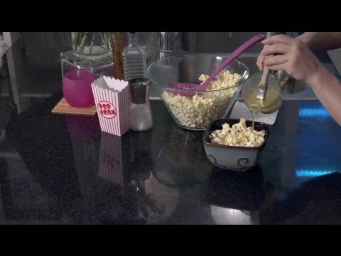 butter and popcorn - Subscribe Now: http://www.youtube.com/subscription_center?add_user=Cookingguide Watch More: http://www.youtube.com/Cookingguide Popcorn with pour-over butter...