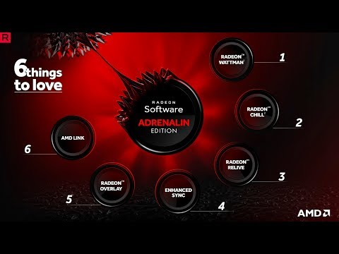 6 things to love about Radeon™ Software Adrenalin Edition in 60 seconds