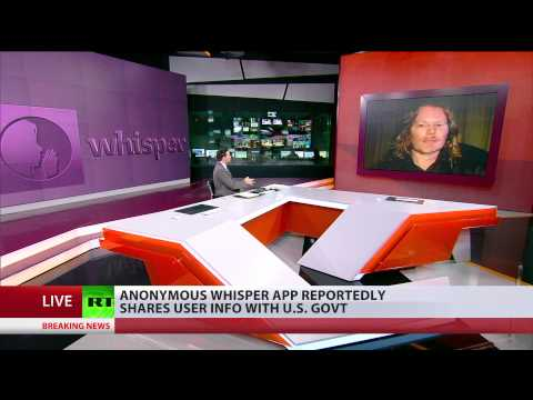 media - The anonymous app Whisper claims to be the safest place on the Internet, where users can share intimate details about their private and professional lives. But an investigation by Britain's...
