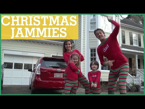 XMAS JAMMIES - Family Makes Awesome Video Christmas Card