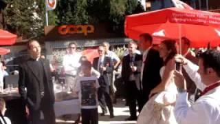 Grachen Switzerland  city photos gallery : father brunner yodelling priest in grachen switzerland