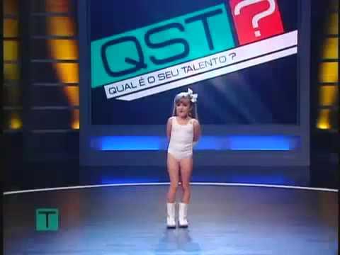 Mini Lady Gaga – Laura Montana – Qual é o seu Talento? – 01/02/2010