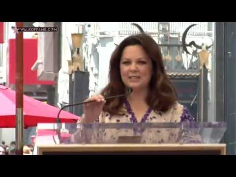 Melissa McCarthy Walk of Fame Ceremony