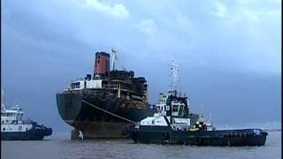 Video Operação de saída do navio DÜDEN - Porto do Rio Grande - RS - Brasil MP3, 3GP, MP4, WEBM, AVI, FLV Agustus 2018