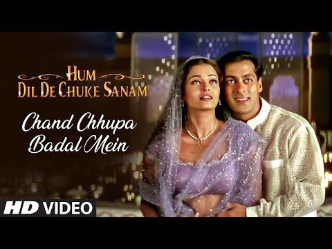 Chand Chhupa Badal Mein Full Song | Hum Dil De Chuke Sanam | Salman Khan, Aishwarya Rai
