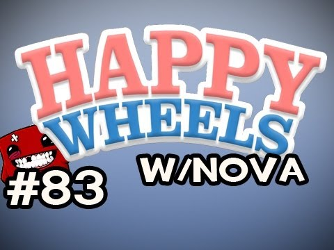 Happy Wheels w/Nova Ep.83 - Super Meat Boy Edition Video
