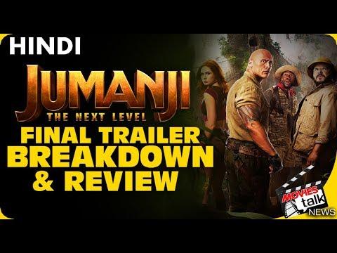 JUMANJI THE NEXT LEVEL : Final Trailer Breakdown [Explained In Hindi]