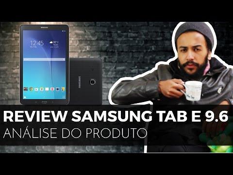 [ANÁLISE] Tablet Galaxy Tab E T560N e T561M