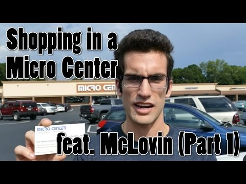 Shopping in a Micro Center for PC Components (Part 1)