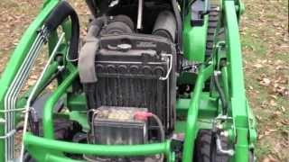 7. John Deere 2520 walk around
