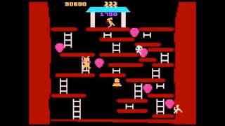 Kangaroo: Novice (Atari 5200 Emulated) by oyamafamily