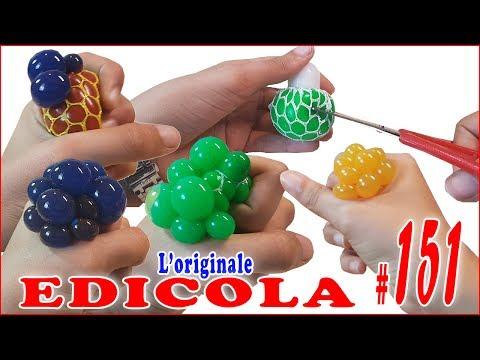 SQUISHY BALL SLIME da Tagliare (EDICOLA by Giulia Guerra) (видео)