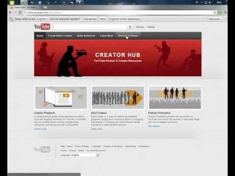 Einfach YouTube Partner werden & damit Geld verdienen! Teil 1 – [HD]