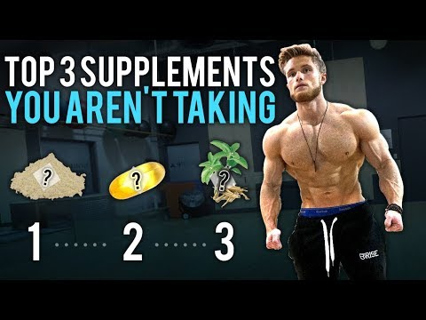 Weight loss pills - 3 Supplements You Aren't Taking BUT Should Be! (Not Sponsored*)