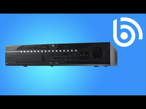 How to operate People Counting with the Hikvision DS-9616NI-ST NVR