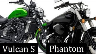 8. Kawasaki Vulcan S vs Honda Shadow Phantom Comparison Review