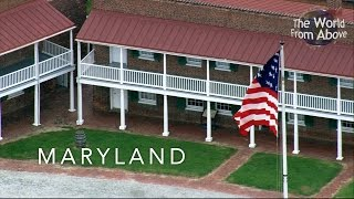 Beautiful views of Maryland, USA From Above in High Definition (HD). By special request.