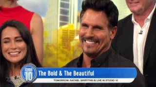Video 'The Bold & The Beautiful' Cast On Their Characters | Studio 10 MP3, 3GP, MP4, WEBM, AVI, FLV Oktober 2018